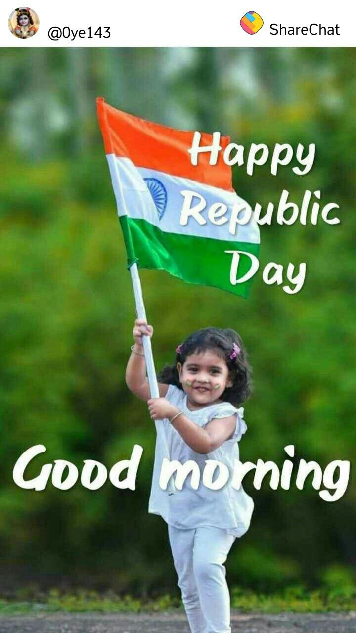 Pin By Arzoo Jamwal On Goodmorning Republic Day Good Morning Wishes Good Morning Images Gif good morning happy republic day
