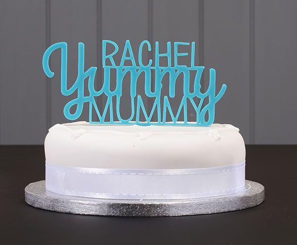 Handmade personalised baby shower cake topper available to order from my Etsy page!