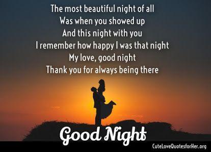 Romantic Good Night Poems