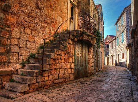 OLD STONE STREET Photo by Petar Botteri — National Geographic Your Shot