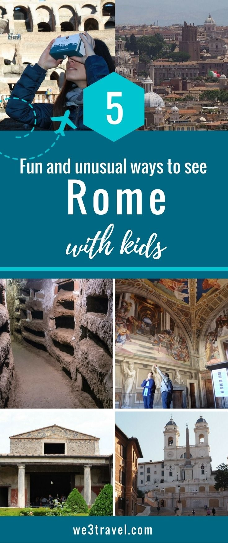 Rome travel tips: 5 fun and unusual ways to see Rome with kids | Italy