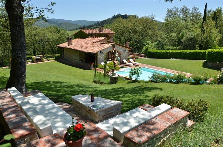 Gaiole Chianti Luxury Villas With Pools