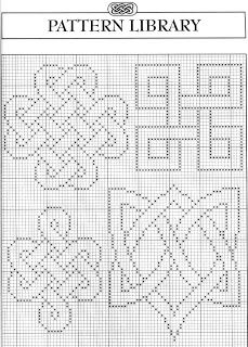 Celtic motifs 1 free cross stitch pattern