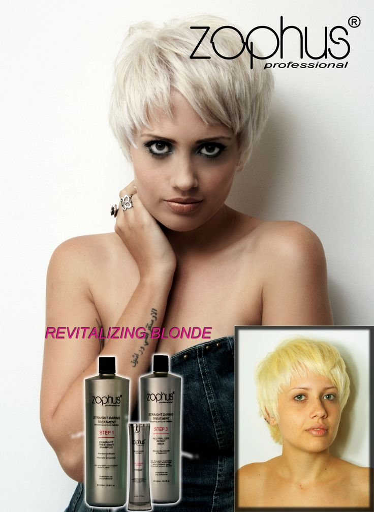 Revitalizing blonde - rebuilder and neutralizer treatment for yellow and porous blonde hair.
