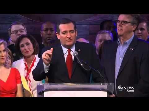 Ted Cruz: It's time for Republicans to Unite to Defeat Donald Trump   March 1, 2016 - YouTube