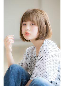 【Euphoria】タンバルモリハニーヘアナチュラルボブ☆小顔ボブ - 24時間いつでもWEB予約OK!ヘアスタイル10万点以上掲載!お気に入りの髪型、人気のヘアスタイルを探すならKirei Style[キレイスタイル]で。