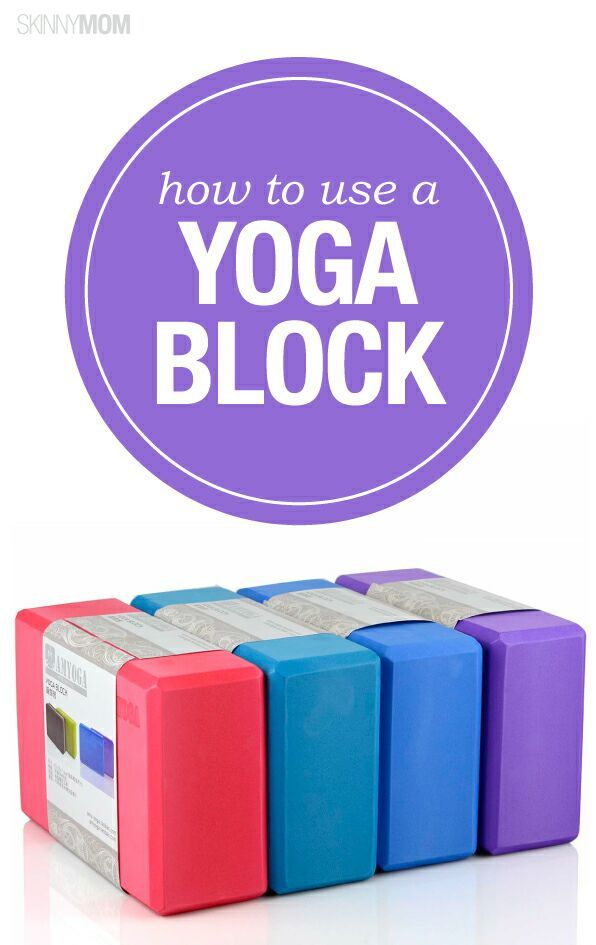 Best ways to use a yoga block.