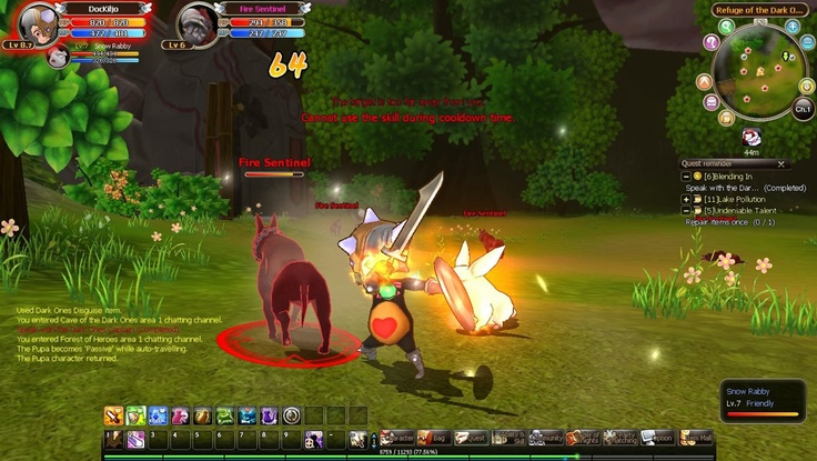 """Knight Age is a Free to Play, Fantasy cartoonish style Role-Playing MMO Game, featuring constantly changing """"Instance Dungeon"""".  http://mmoraw.com/index.php?option=com_content=article=430:knight-age=1:role-playing-mmorpg=2"""