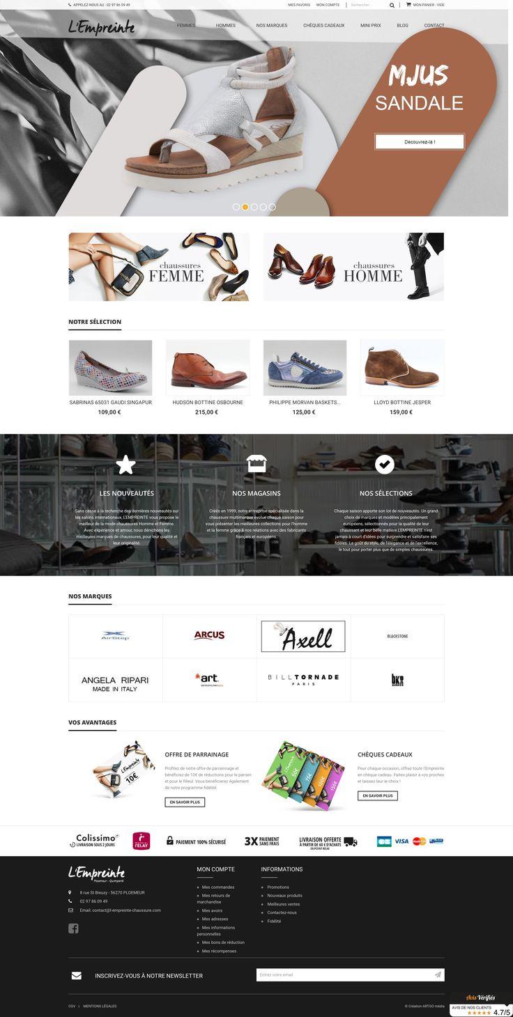 Vente de chaussures en ligne