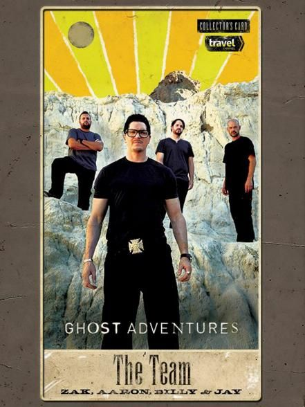 We see lots of spooky fun in your future, Ghost Adventures fans! Collect these tarot cards featuring Zak Bagans and the crew and make sure to tune in to this year's Halloween special, Route 666.