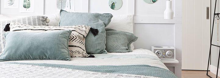 25 beste idee n over gezellige slaapkamer op pinterest gezellige slaapkamer decor wit dekbed - Ontwerp bed hoofden ...