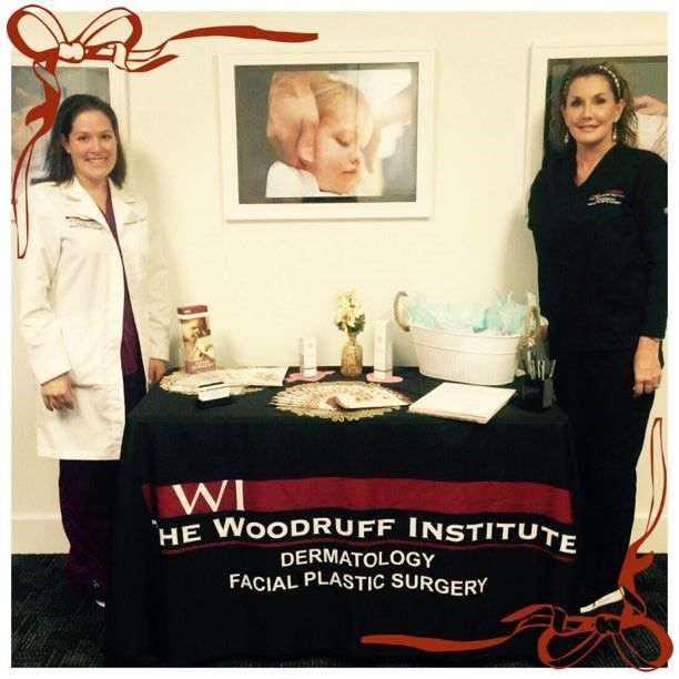 #YourSkinCareTeam ,  Sarah M. Schloss PA-C & her medical assistant Dawn, enjoyed offering complimentary skin cancer screenings and talking about #CaraingForYourSkin  to the folks at Thrive Chiropractic. Thanks for including us in this amazing event!