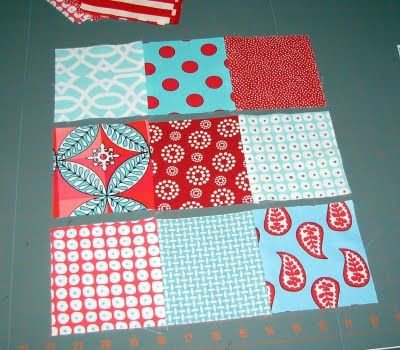Sew Fantastic: Disappearing nine patch :: Tutorial: Sewing Fantastic, Patchwork Quilts, Favorite Colors, Fabrics Red, Disappearing Nine Patches, Patches Blocks, Blocks Patterns, Crafts Sewing, Quilts Tutorials
