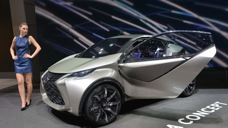 Lexus thinks small with ultra-compact LF-SA concept