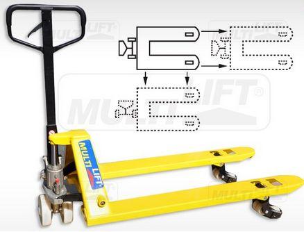 Diseñado para mover mercancía en lugares muy estrechos y confinados donde es dificil dar la vuelta. http://montacargas.com.mx/psm-2500n-patin-hidraulico-multidireccional-llantas-multidireccionales-nylamid-2500-kgs-27x48/
