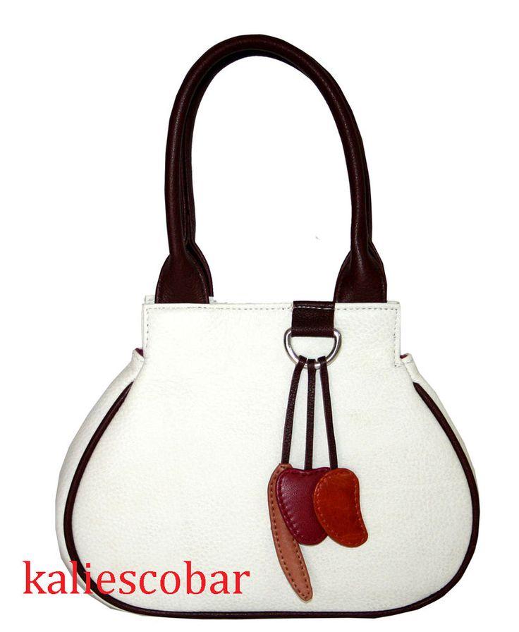 New Women Leather Handbag Tote Purse Leather Shoulder Messenger Hobo Bag Satchel #Handmade #MessengerCrossBody