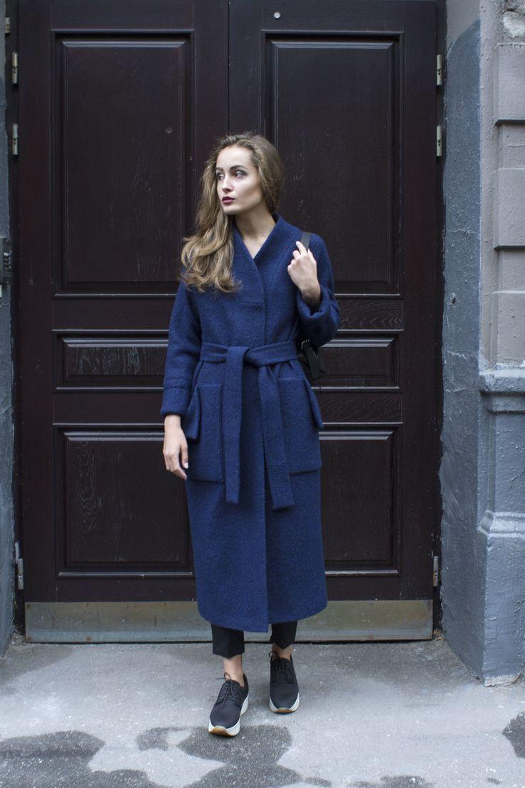 Пальто халат. шерсть, вискоза   «Ламбада-маркет»