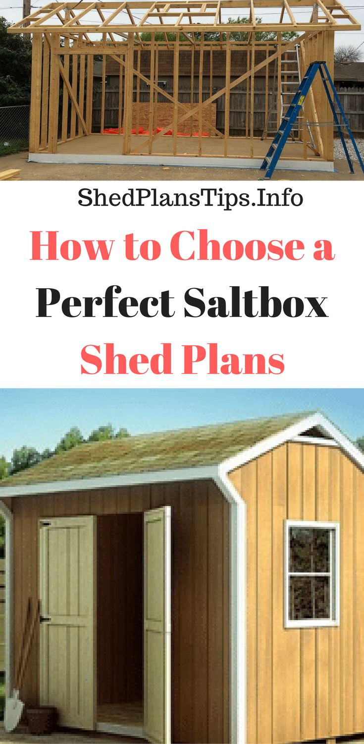 How to Choose a Perfect Saltbox Shed