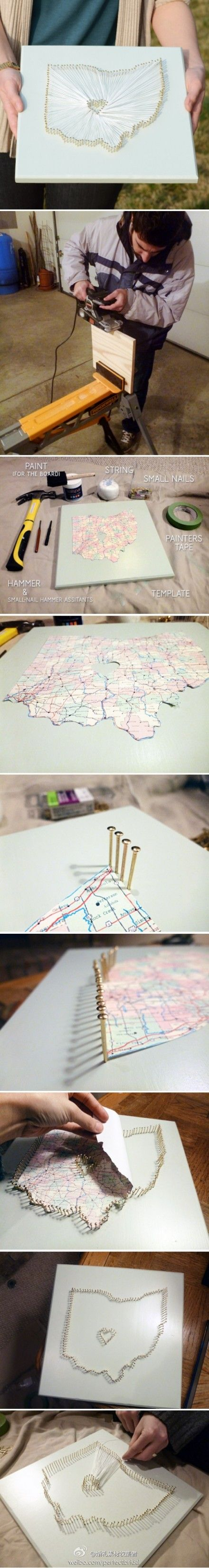 234 best DIY ideas with maps