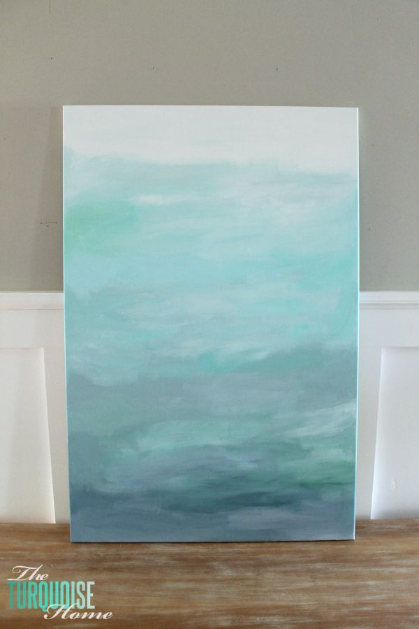 17 best ideas about easy abstract art on pinterest for Diy abstract canvas wall art