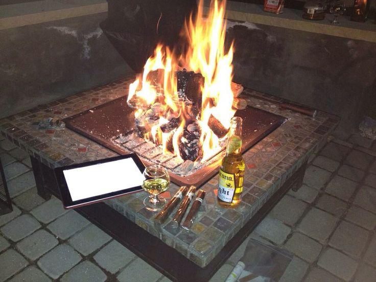 38 best Fire pit Rejuvenation! images on Pinterest   Decks ...