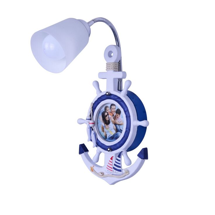 89.25$  Buy now - http://aliqv6.worldwells.pw/go.php?t=32777827860 - AC 110V-220V E27 Lamp Children Room Mediterranean Kids Wall Light Indoor Lighting Wood Bedroom Led Wall Lamp Sconce Wall Lights