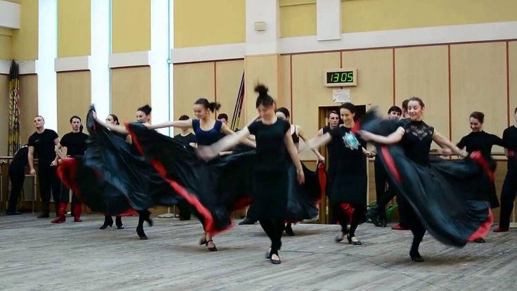 Virsky Spring Training 2016. Virsky Orchestra Rehearsal