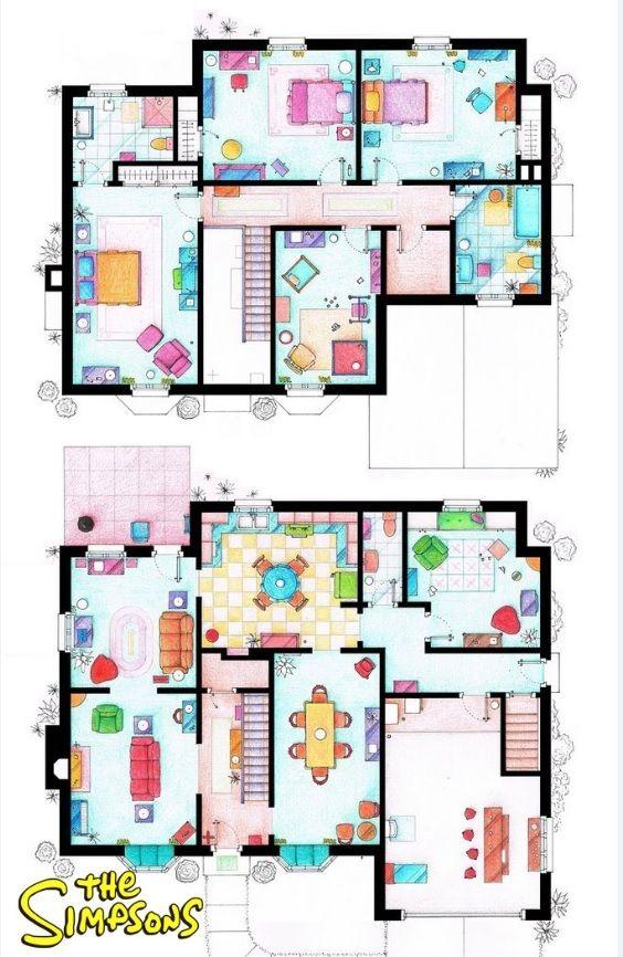 Casa de la familia Simpson