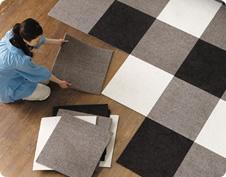 interesting carpet idea