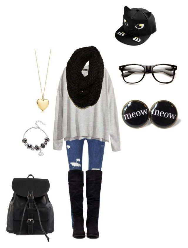 """""""A Kalel Cullen ft. Outfit creator Mak Dawn~BeautyFly0"""" by babybear0 ❤ liked on Polyvore featuring Forever 21, H&M, NLY Accessories, Tiffany & Co., Paula Bianco and La Preciosa"""