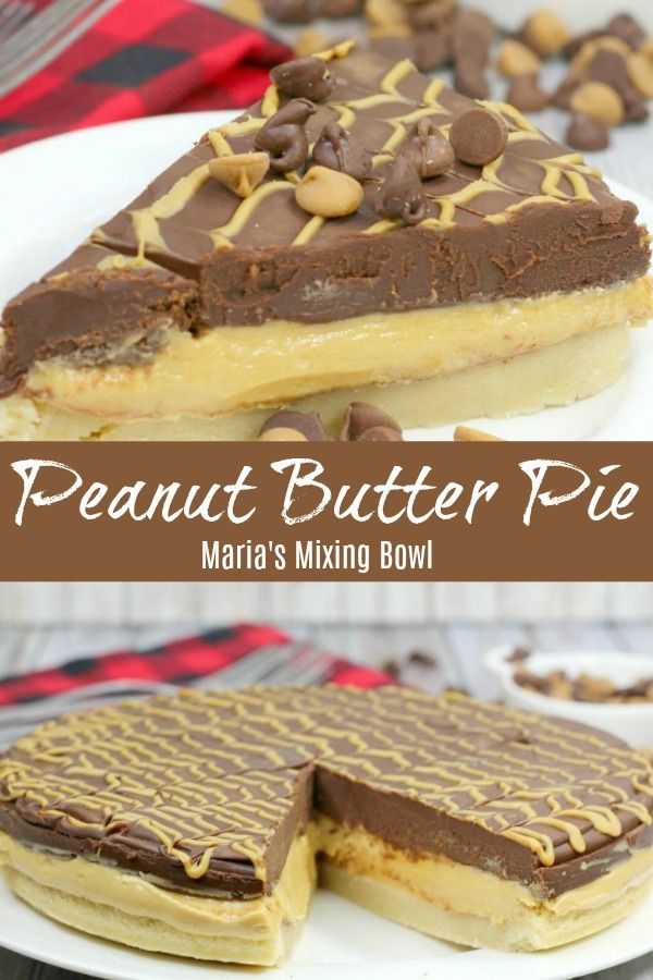 Peanut Butter Pie Recipe An Ahh Mazingly Buttery Crust Topped