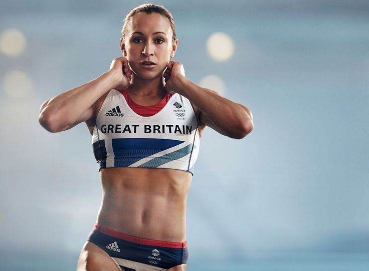 Jessica Ennis: 800m (~half a mile) in 2min 8sec.  Inspires me to want to eat better and work out to get FIT, NOT skinny, but FIT :)
