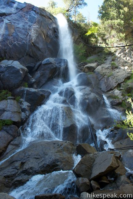 Grizzly Falls in Sequoia National Forest