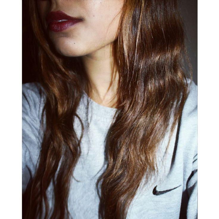 Girl long hair style