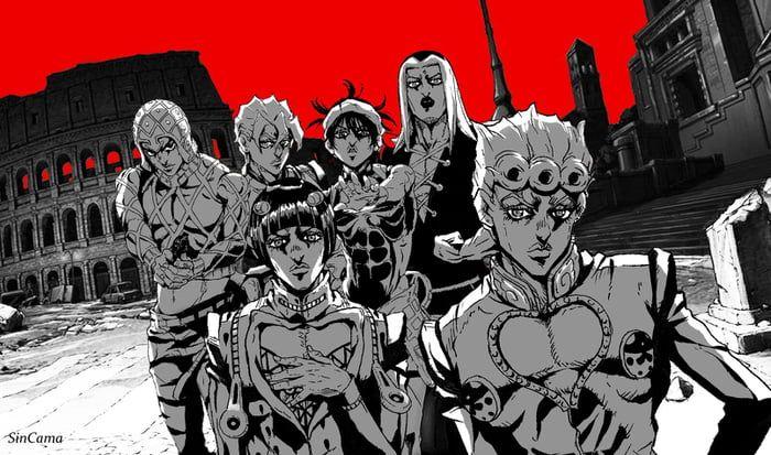 Vento Aureo X Persona 5 Jojo Bizzare Adventure Jojo Anime Anime Wallpaper