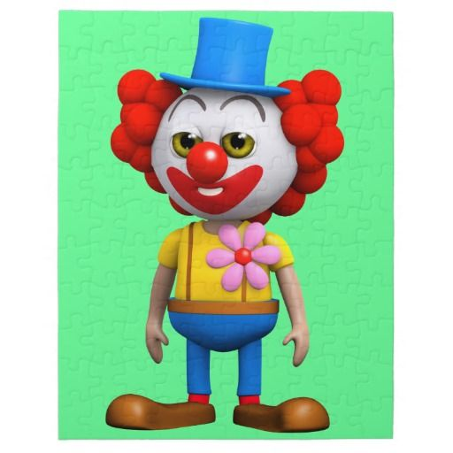 3d Funny Clown Puzzles by Steve Young