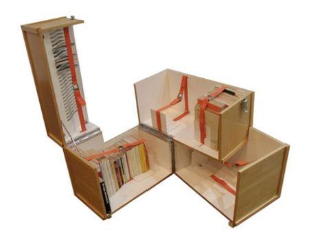 Pocket Library, un'idea originale per contenere tutti i vostri libri in poco spazio