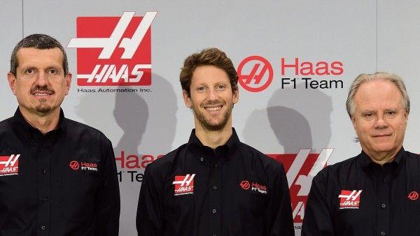 Formule 1 : Grosjean, le 1er au volant de la Haas à Barcelone