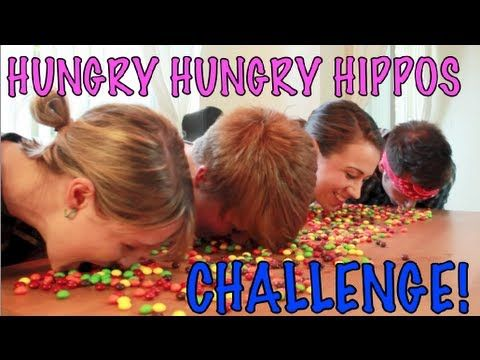 Colleen and friends eat skittles competitively :D