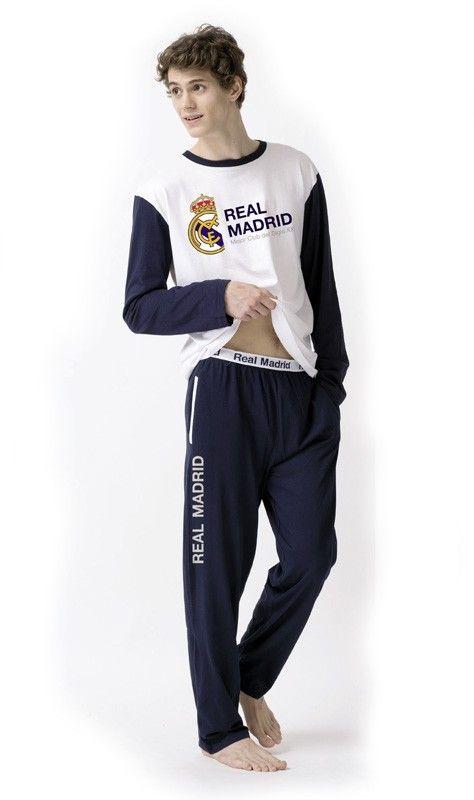 Pijama del REAL MADRID para hombre. Producto con licencia oficial, no es una copia. 100% Algodón. Envío 24/48h. Más equipos en varelaintimo.com