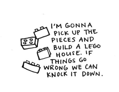 Love this..goes hand and hand with don't bring the same bricks from your past or you'll build the same house
