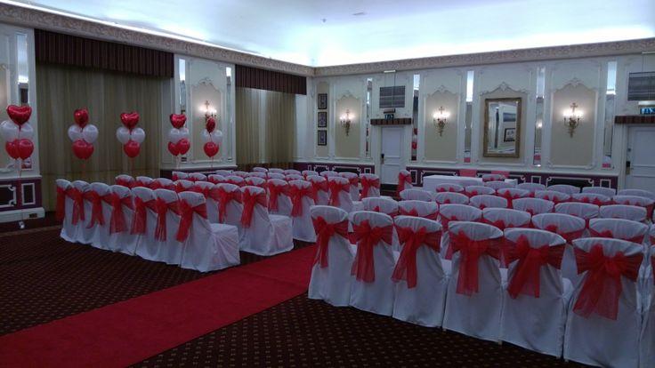 @Hilton Brighton Metropole lovely wedding set up