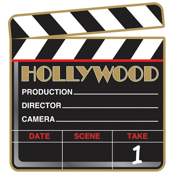 Lights, Camera, Fun! Get ready for the blockbuster party of the season! This scene stealing party prop features a movie clapboard printed on both sides on card stock. Package contains 12 Hollywood Cla