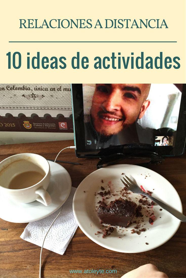 10 ideas de actividades para relaciones a distancia