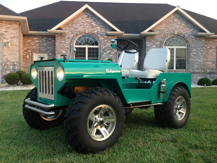 43 Best Images About Palomino Mini Jeep Mower On Pinterest