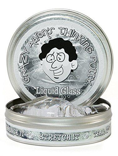 Crazy Aaron's Thinking Putty, 3.2 Ounce, Liquid Glass Cra...