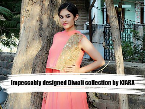 Impeccably designed Diwali collection by #KIARA. 21st and 22nd October, between 10:30 am to 8:30 pm, at ANAY GALLERY, next to KFC, prahladnagar. #Exhibition #Fashion #KiaraDesignStudio #Clothing #Ahmedabad