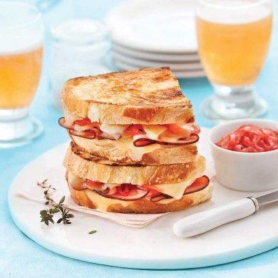 Grilled cheese de luxe - Recettes - Cuisine et nutrition - Pratico Pratique