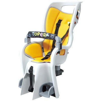 Bike Child Seats - TOPK BABYSEAT II ONLY BabySeat II Babyseat only without rack Yellow color seat pad ** Check this awesome product by going to the link at the image.