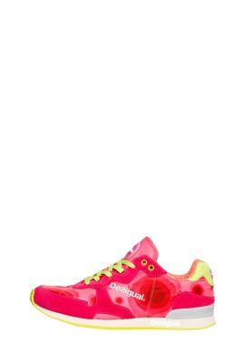 Desigual Sneakers for Women, very versatile and cosmopolite. They offer a young and fun style, they have been designed for the most urbanite women. The sole in E.V.A foam of low profile provides lightness and a quick response when walking.